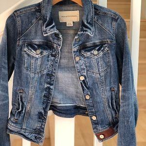 Pilcro & the letterpress Jean jacket XS